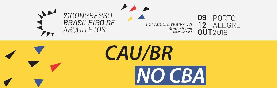 CAU/BR NO CBA